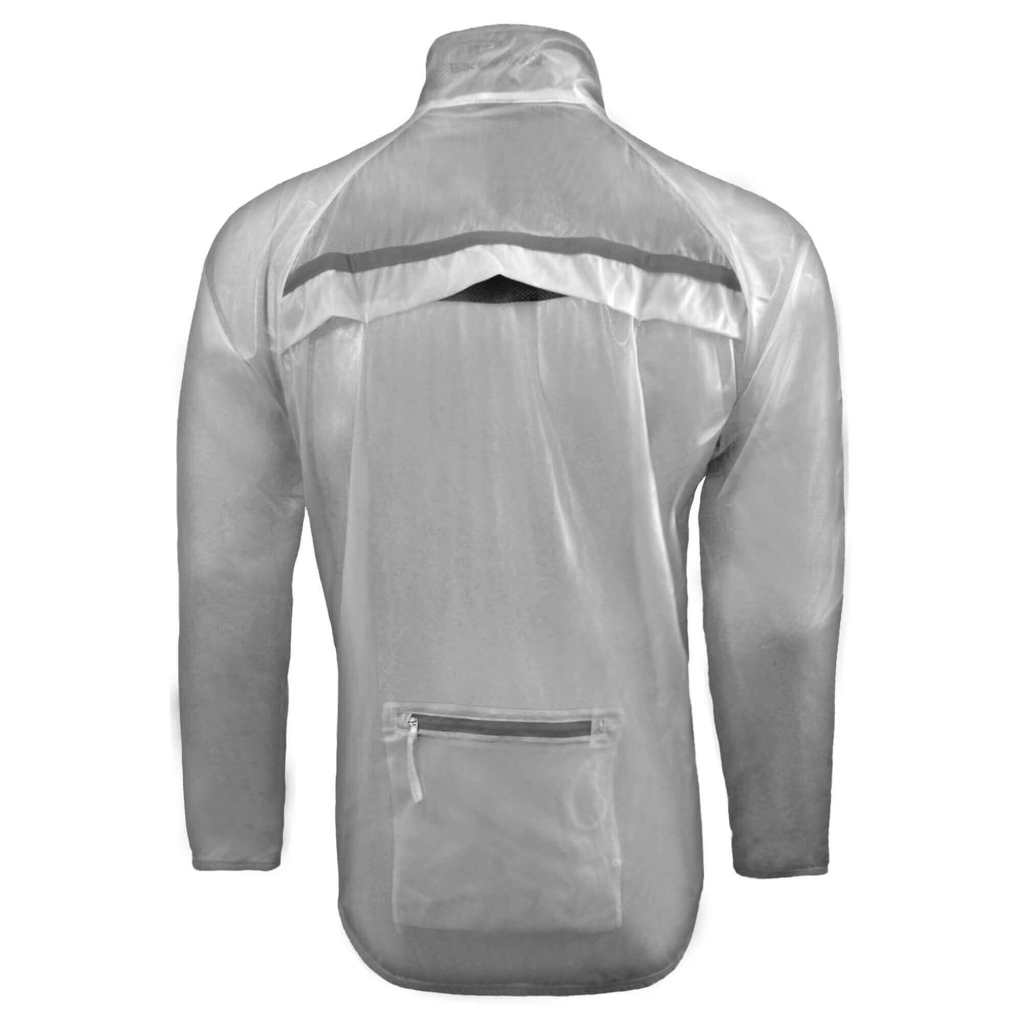 lecco men Racing in wet conditions keep your team logo clearly displayed with the lecco rain jacket its transparent shell is water-repellent and windproof, exposing your jersey logo while protecting.