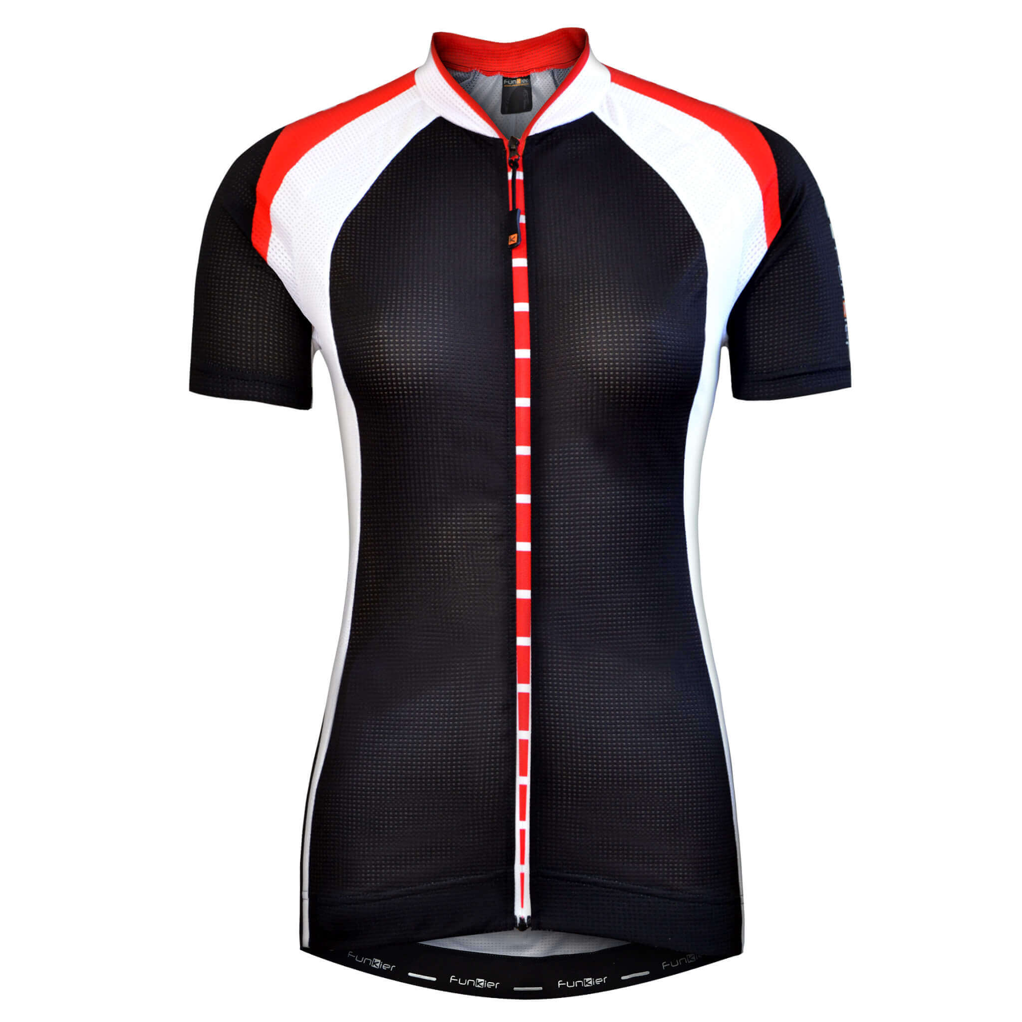 7527fdf31 Ladies Short Sleeve Jersey J-780 - Funkier Bike